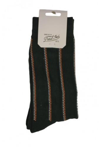 Men Plain socks Petrol 73-7 Green