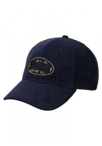 Aνδρικό Καπέλο Petrol κοτλέ μπλέ