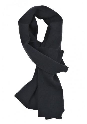 Men scarf Petrol 948 Blue