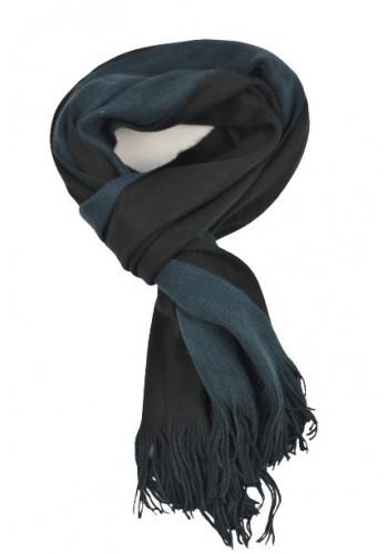 Men scarf tiffosi 10036634 blue-black