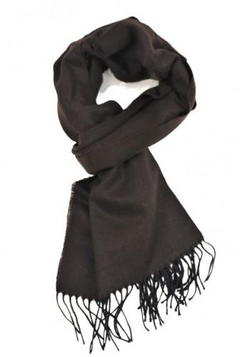 Men scarf Gnious 300093 brown