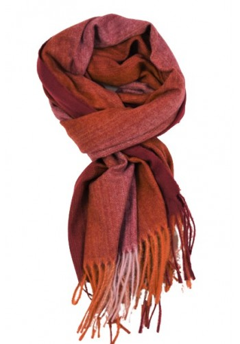 """Men scarf  Smithy""""s MA17921 Red"""