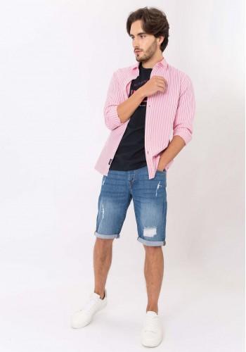Men Denim Shorts Τiffosi 10032318-M20