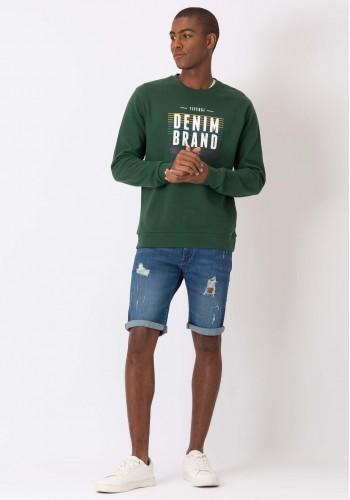 Slim Fit Denim Shorts Tiffosi  m20