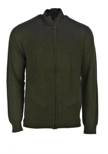 Men Knit Cardigan Gnious 300138 Green