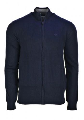 Men Knit Cardigan Gnious 300133 Blue
