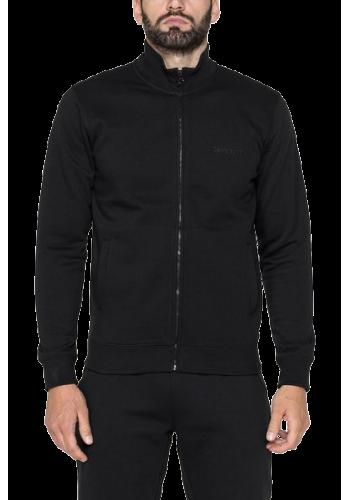Men's zip hoodie  Fleece Carrera 834-92 899 black