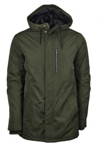 Men Jacket Solid 61669649 Rosin Green