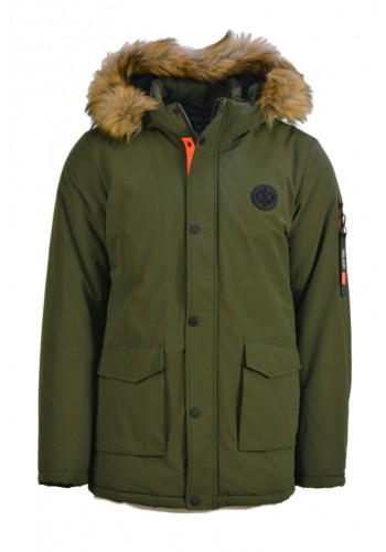 Men jacket Cars Jeans 4331418 Green