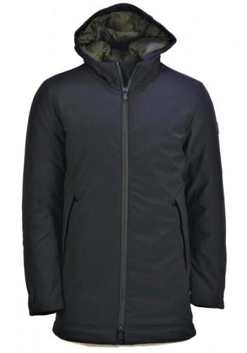 Men Sustainable jacket Smithy's MC17721 Black