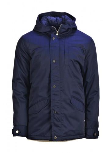 Men jacket Solid 6169655-2003 Blue