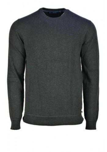 Men knit pullover Ascot Grey