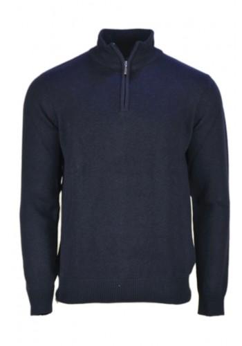 Men knit Ascott SM902 Navy blue