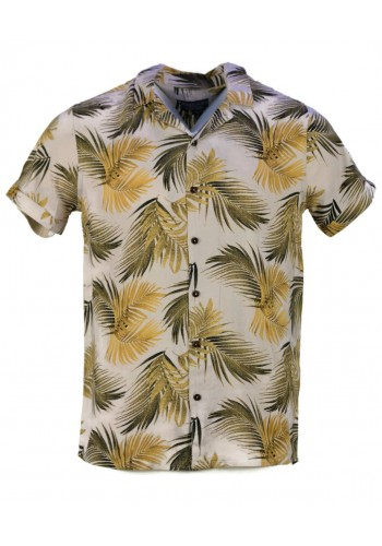 Men Sleeved Shirt Eight2Nine10994 Floral Print