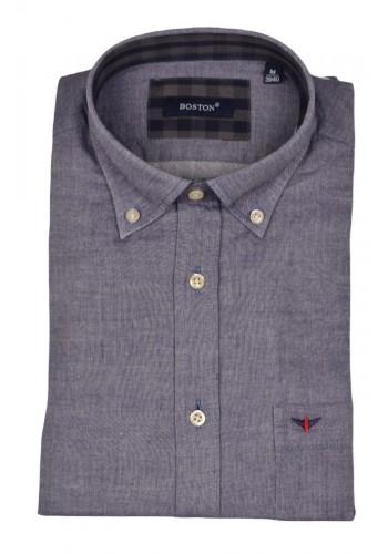 Mens shirt Boston 2230-24 grey