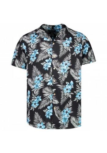 Resort πουκάμισο με all over τύπωμα floral Cars καφέ-γαλάζιο