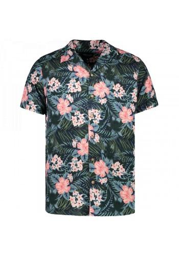 Men short sleeves shirt floral Cars Jeans  48694