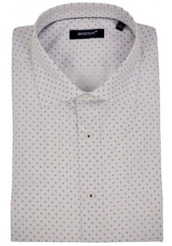 Mens shirt  Boston 2448-2 longsleeve ecru