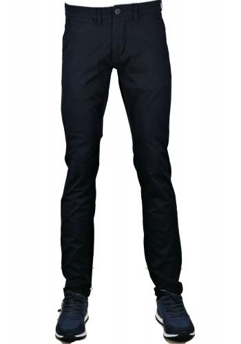 Ανδρικό παντελόνι Chino Gnious summer ελαστικό μπλέ