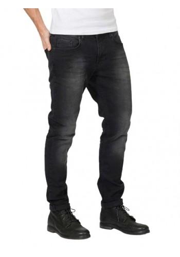 Men jeans Petrol 9705  tymore tapered Black stone