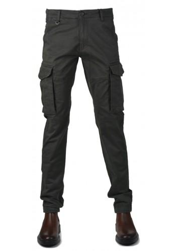 Men cargo trousers Gnious 16-133 grey