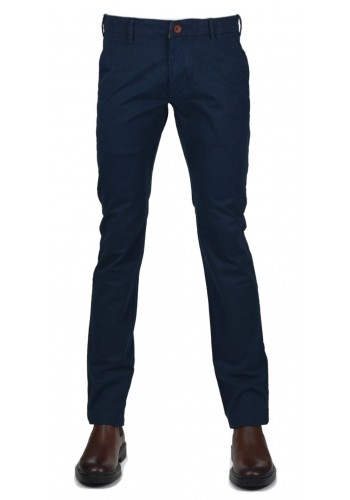 Men pant Classic chinos  Gnious 300131-7080 blue