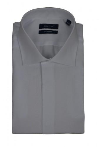 Aνδρικό πουκάμισο slimfit BOSTON 181 λευκό