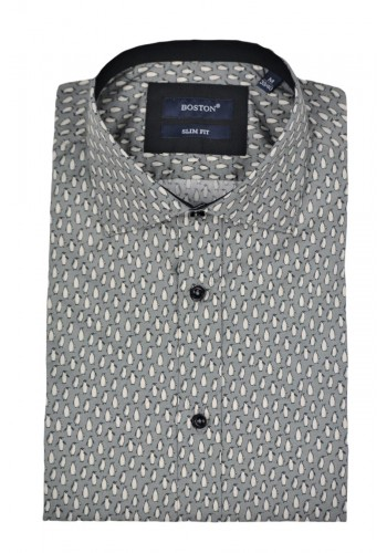 Men shirt Boston 351-1 Slim fit