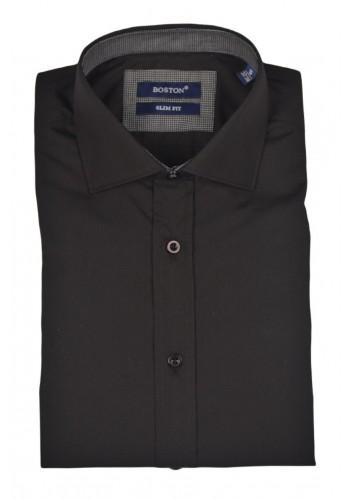 Men shirt  Boston 500-125 Slim fit Black