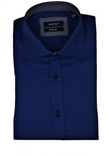 men shirt  BOSTON 6046-11 longsleeve blue