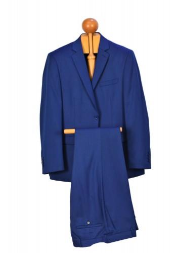Aνδρικό κοστούμι σε κανονική γραμμή μπλέ ανοιχτό