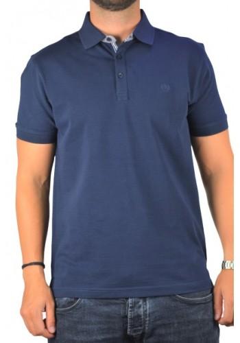 Ανδρική μπλούζα Polo Ascot Sport 37102 Μπλε