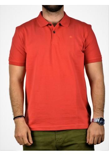 Aνδρική Μπλούζα  POLO Lerros Κοραλί