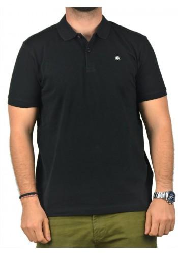 Aνδρική Μπλούζα  POLO Lerros Μαύρη