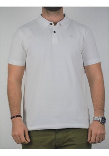 Aνδρική Μπλούζα  POLO Lerros λευκή
