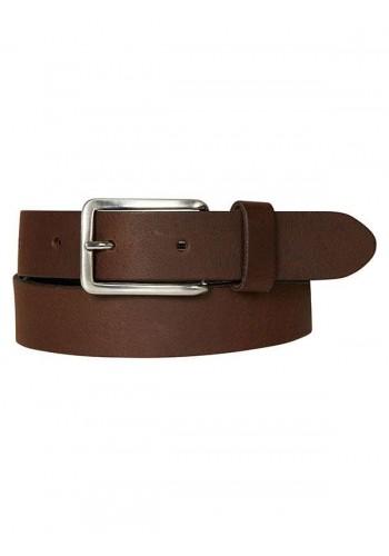 Men Leather Belt Petrol30377/280 Brown