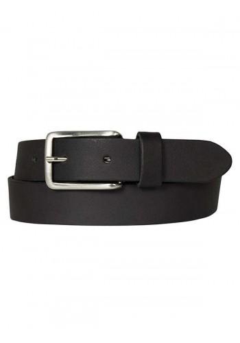Men Leather Belt Petrol 30377/999 Black
