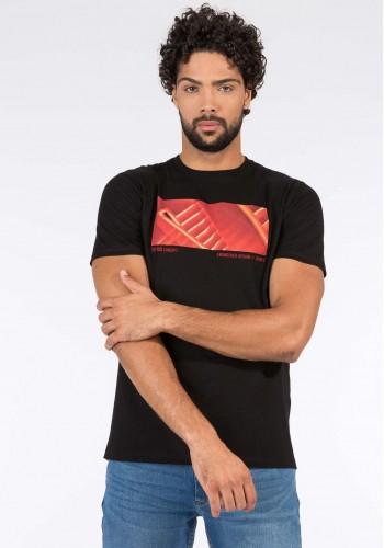 Men T-Shirt Tiffosi 10038599 Black