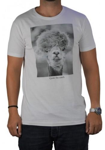 Ανδρικό t-shirt  photo print Stitch & Soul  λευκό