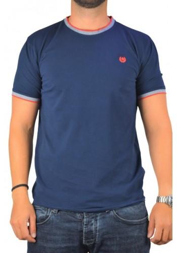 Mens T-Shirt Ascot Sport 321-61 Blue