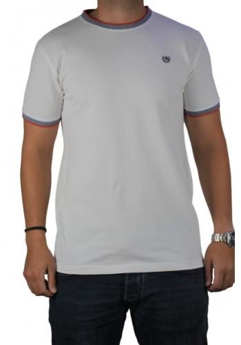 Men t-shirt Ascot Sport 321-01 white