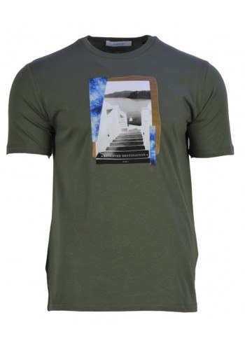 Men T-Shirt Hamaki-Ho 157M Green