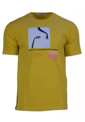 Men T-Shirt Hamaki-Ho 161H Lemon