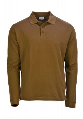Ανδρική μπλούζα πόλο Gnious μπεζ