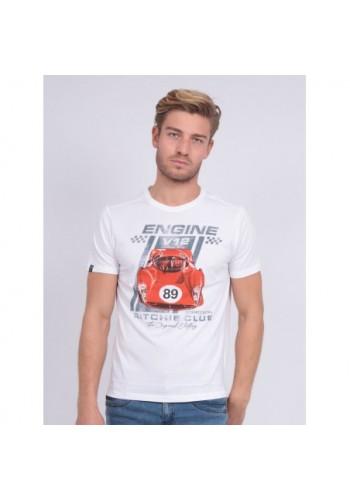 Aνδρικό t-shirt Ritchie nitali λευκό